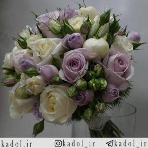 دسته گل عروس بهاری
