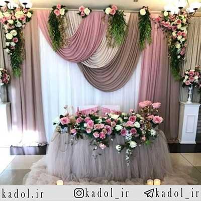 گل آرایی مراسم در شیراز