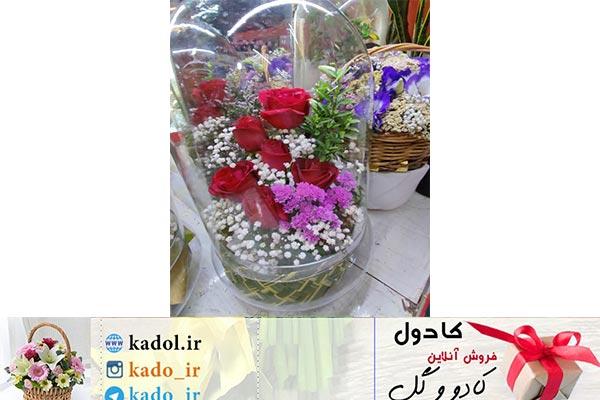 تراریوم گل رز در شیراز