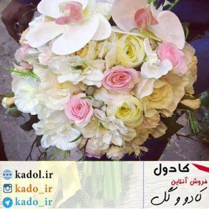 دسته گل فانتزی عروس
